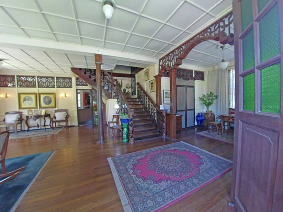 Fusion of Philippine Art Deco and Art Nouveau inside the Hofileña Ancestral House